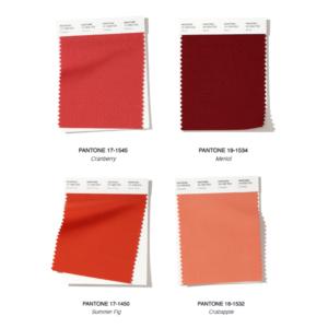 Tendenze autunno 2019 Pantone rosso e rosa